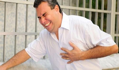 آنژین از عوارض سکته قلبی است