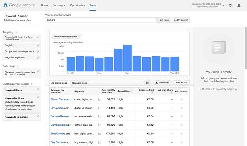 چطور از Google Keyword Planner استفاده کنیم؟