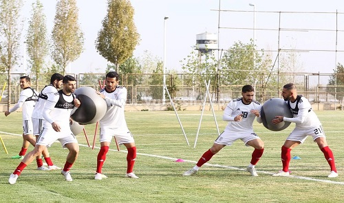 عکس تمرین جدید تیم ملی فوتبال ایران
