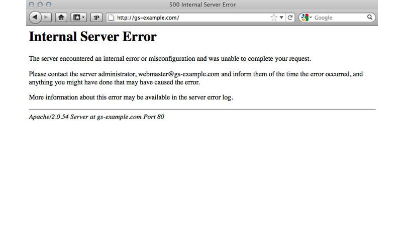 ارور در وردپرس internal server error