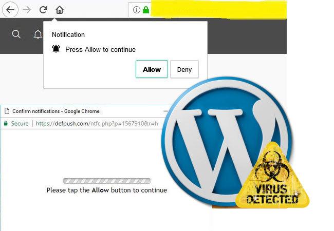 آموزش حذف ویروس از سایت های وردپرس