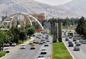 فاصله تهران تا کرمانشاه