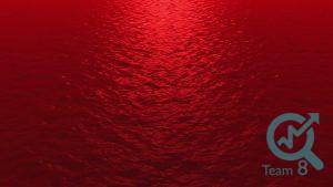 اقیانوس آبی و قرمز