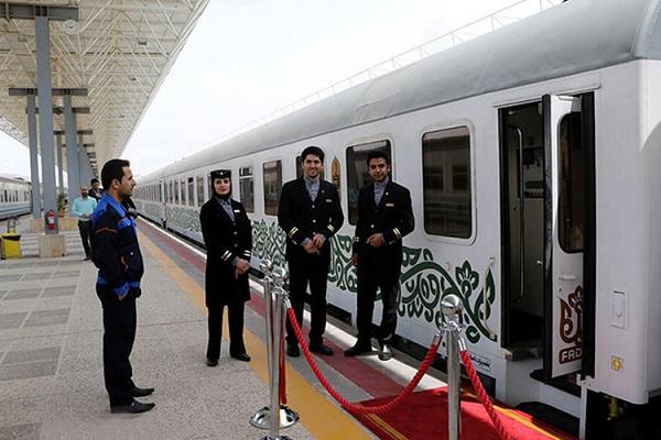 عکس قطار فدک