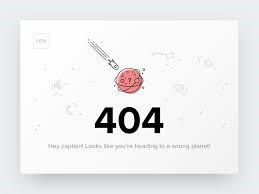 تاثیر خطای 404 در سئوی سایت و ورودی گوگل :