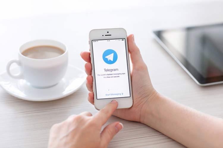 بالا نیامدن مخاطبین در تلگرام آیفون