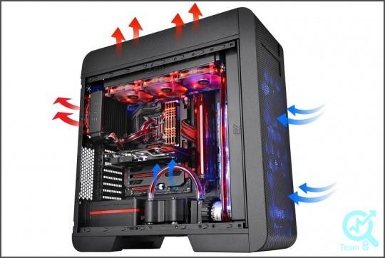 6)گرمای زیادی سیستم