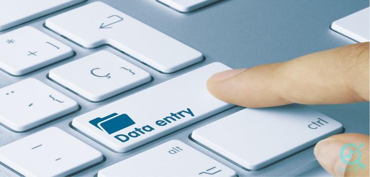 دیتا انتری (data entry )چیست؟