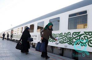 قطار فدک قزوین