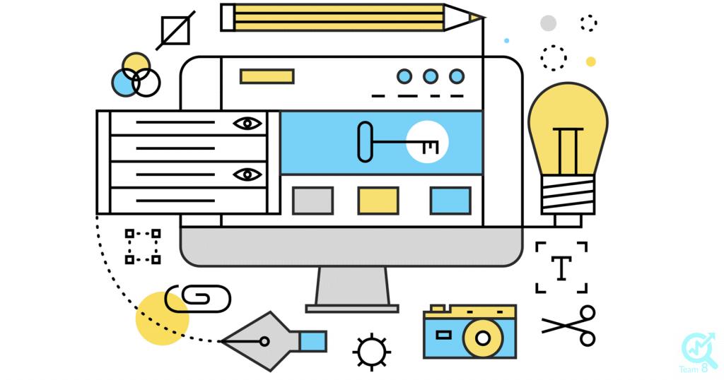 1. هدف بازاریابی از طریق تولید محتوا در سایت خود را تعریف کنید
