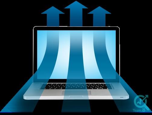 افزایش حجم بارگذاری به وسیله تنظیمات داخلی سایت: