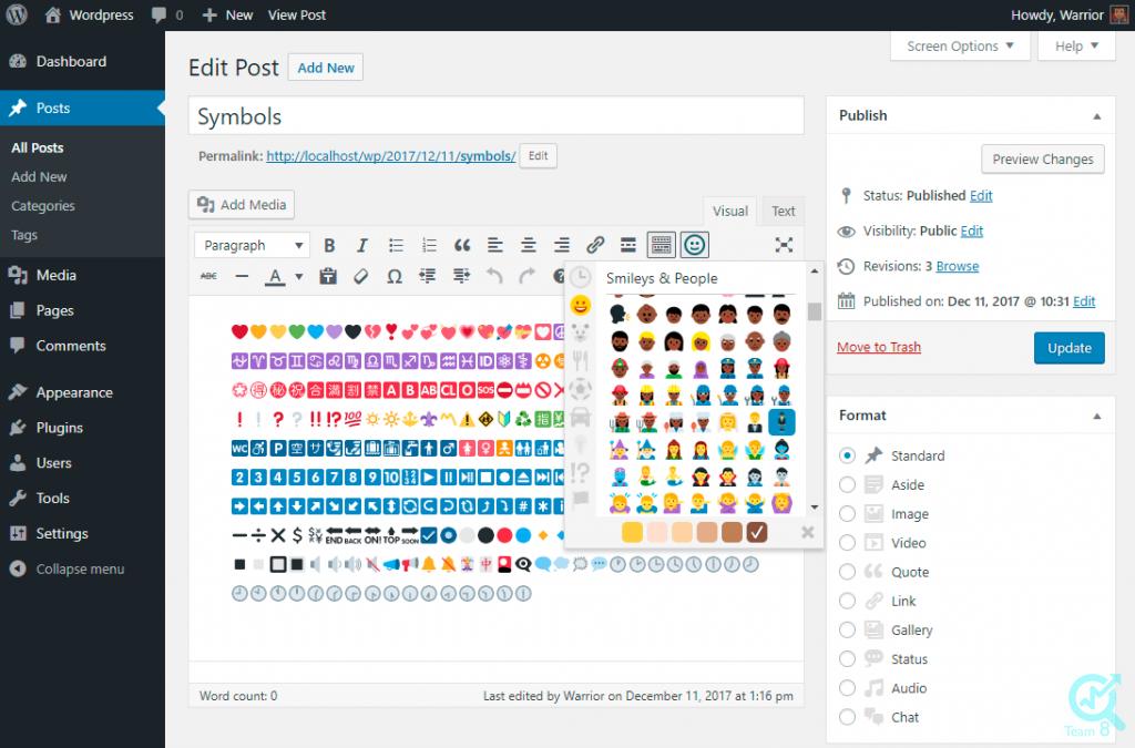 درباره native emoji