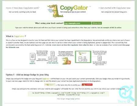 استفاده از ابزار Copy Gator برای شناسایی محتوای تکراری :