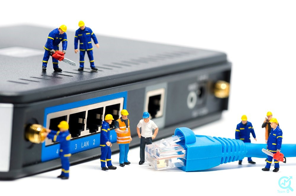 چگونه می توان ریست کردن مودم ADSL را به صورت سخت افزاری انجام داد؟