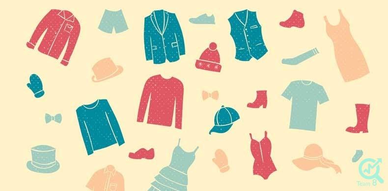 تولید محتوا برای پوشاک