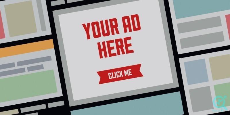 تبلیغات بنری یا تبلیغات نمایشی: