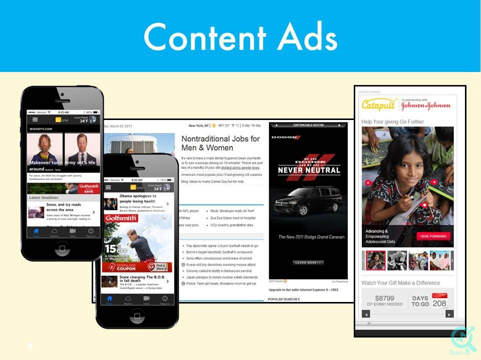 تبلیغات محتوایی چیست؟