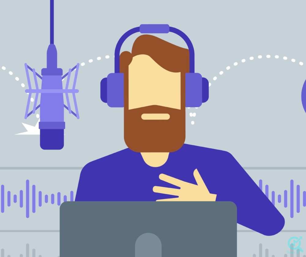 تولید محتوای صوتی :