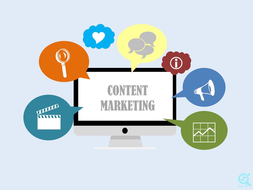بازاریابی محتوا یا content marketing چیست؟