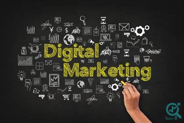 زیر مجموعه های دیجیتال مارکتینگ کدامند؟