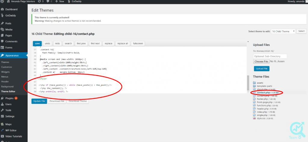 کد نویسی در ورد پرس شامل امکانات بسیار زیادی است، که برخی از آن ها در بخش پایین نام برده شده اند: