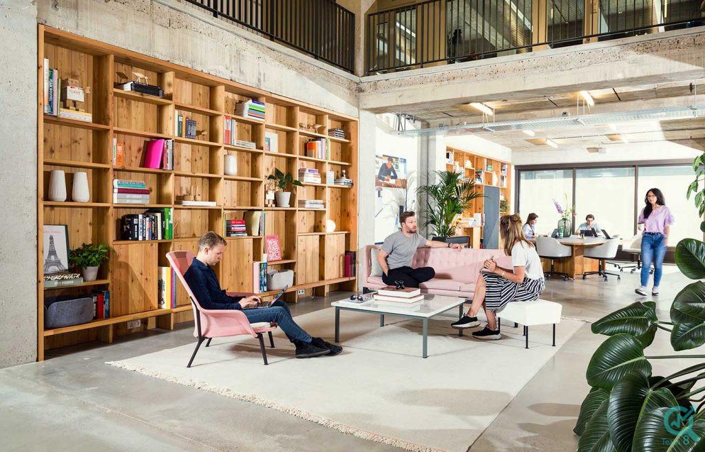 معنای فضای کار مشترکیافضای کار اشتراکیCo-Working space