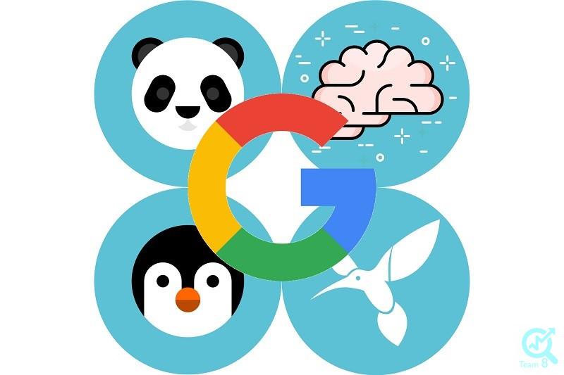 از الگوریتم های گوگل، الگوریتم پاندا چه ویژگی خاصی دارد و از چه سایت هایی فراری است؟