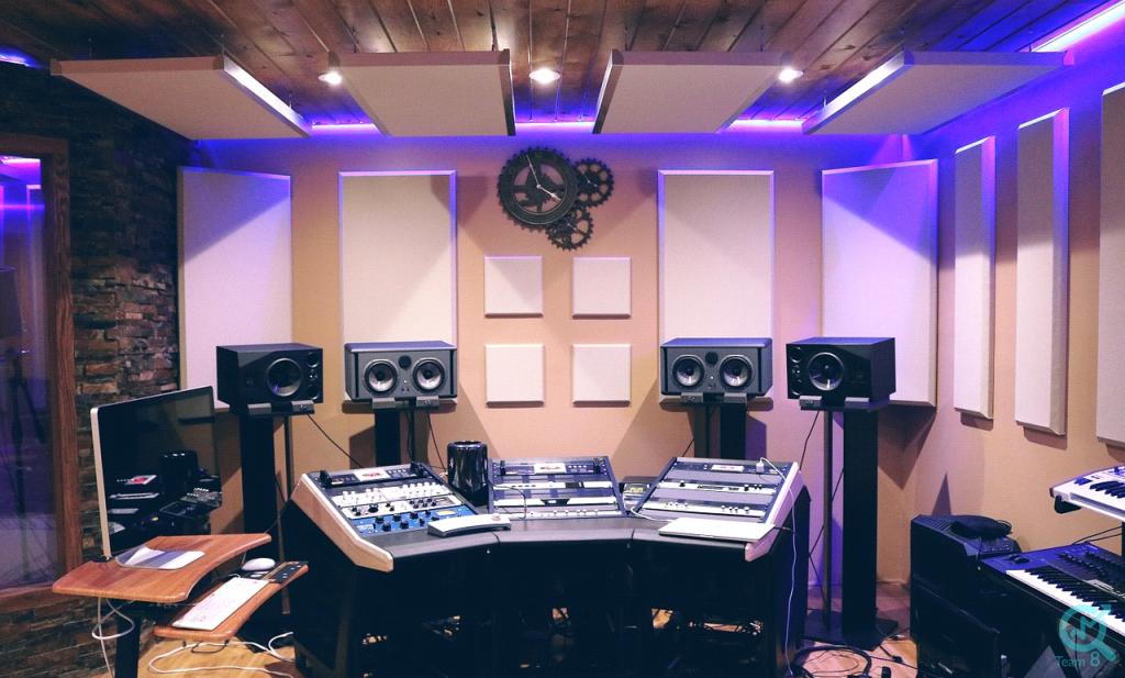 بهترین استودیو های موسیقی در ایران :