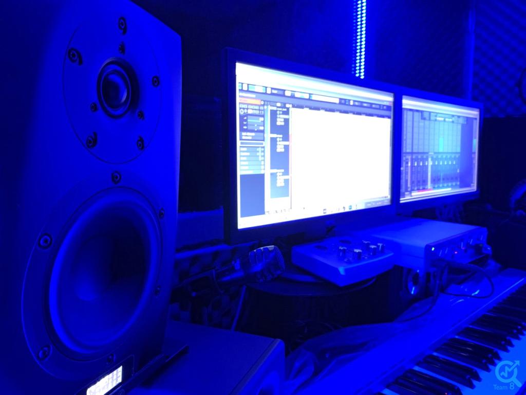 بخش های یک استودیوی ضبط صدا چیست ؟