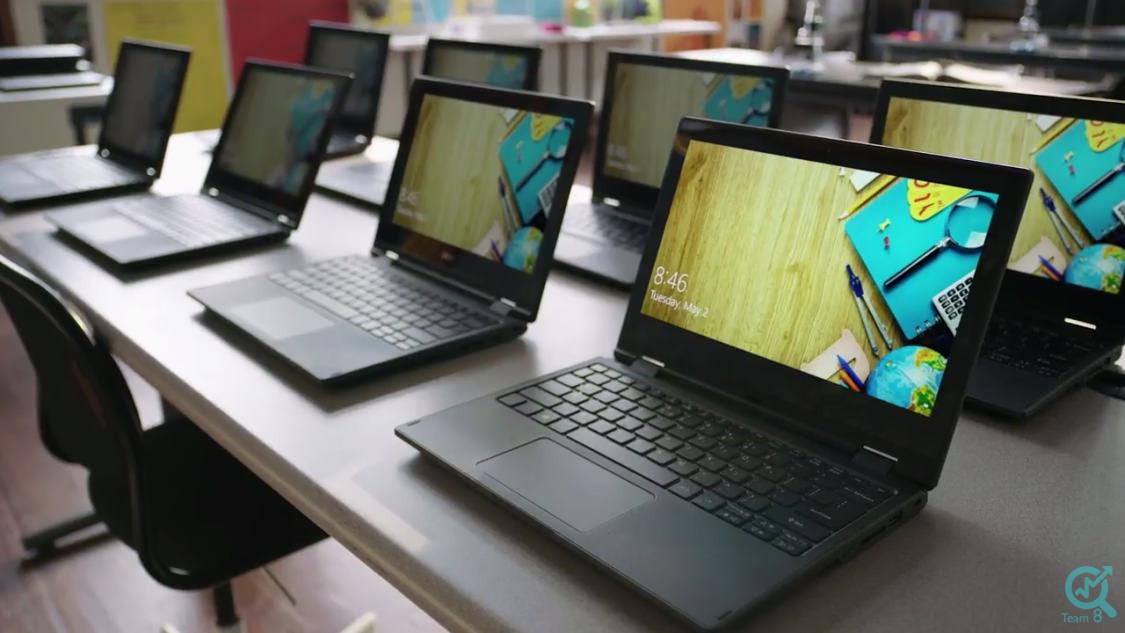 تولید محتوا برای سایت فروش لپ تاپ