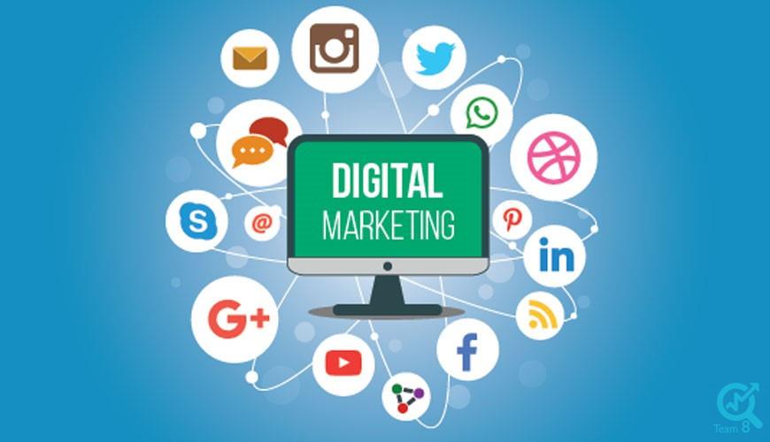 استراتژی های دیجیتال مارکتینگ به چه صورت می باشد؟