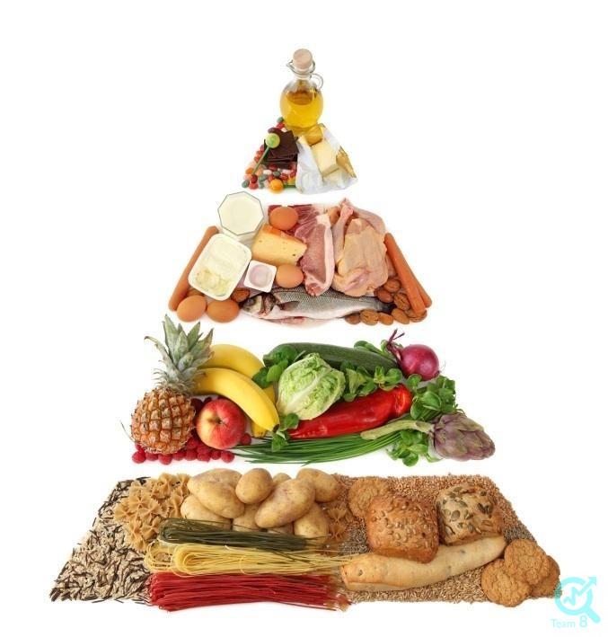الگوی مناسب تغذیه چیست ؟