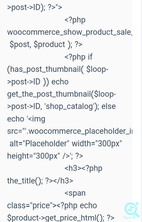به عنوان مثال اگر بخواهیم دسته bag را به نمایش در آوریم باید از کد زیراستفاده کنیم