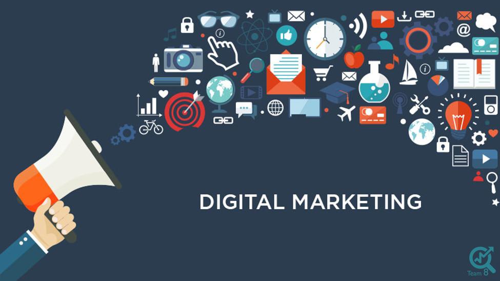 ابزار های متنوعی که دیجیتال مارکترها برای بازاریابی خود در اینترنت از آنها استفاده میکنند، شامل این موارد هستند: